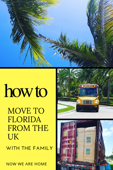 How to move to Florida from the UK - A Family Guide     #relocating