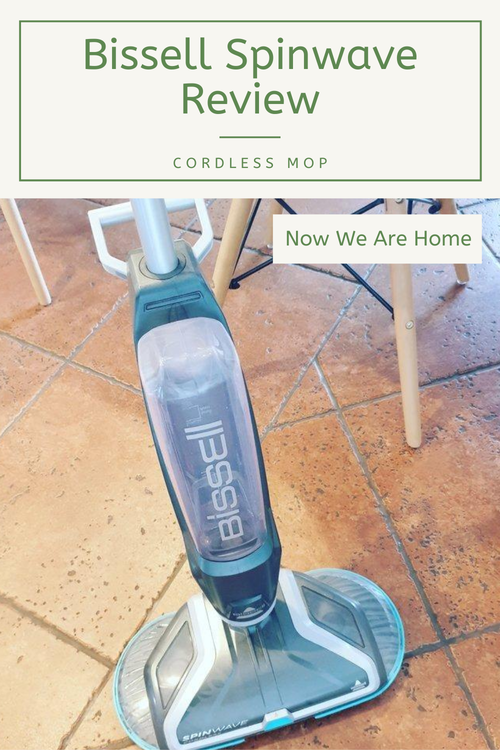 Bissell Spinwave Review of the cordless mop#bissell #cordlessmop