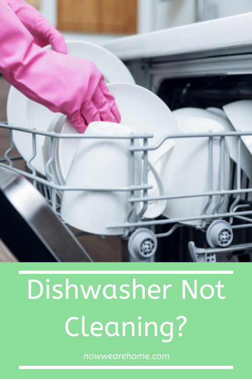 Dishwasher not cleaning? Could it be time for you to clean your dishwasher?#dishwasher #cleaning
