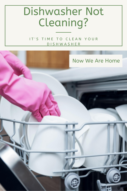 Has your dishwasher stopped cleaning properly? If so it is time to clean your dishwasher#dishwasher