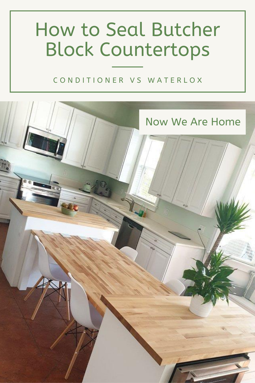 How to seal butcher block countertops#kitchen #butcherblock #countertops #waterlox
