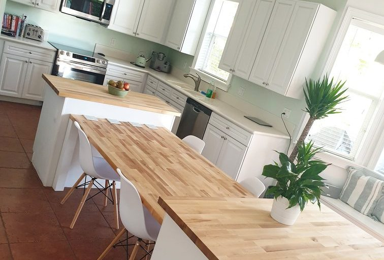 Sealing butcher block countertops the easy way