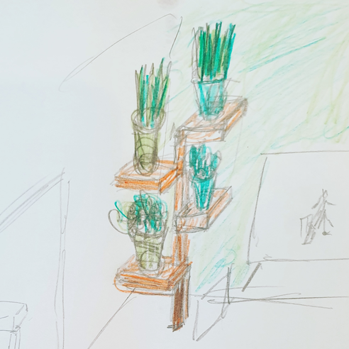 Designing a wooden tiered plant stand