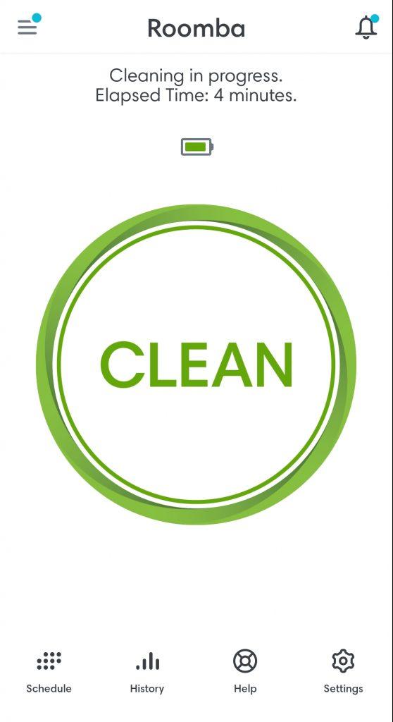 iRobot 960 Cleaning App